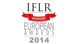 IFLR European Awards - Law firm of the year in Turkey 2014