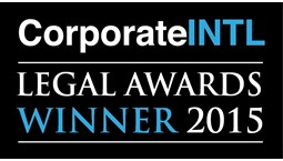 Corporate INTL Legal Awards - Capital Markets Law Firm of the Year in Turkey 2015